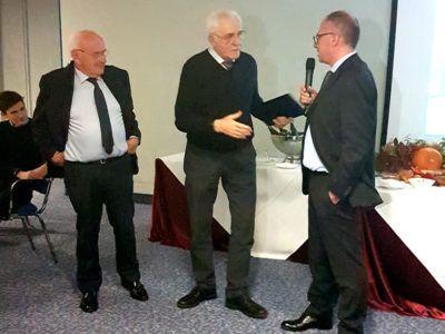 Albino con Lino e Marco