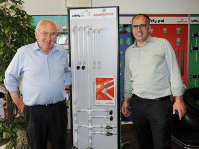 Lino e Marco Petenà, Fondatore e Amministratore Delegato di Aquatechnik
