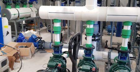Collettori su misura in polipropilene Aquatechnik